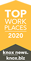 Top Work Places 2018 |  Knoxville News Sentinel
